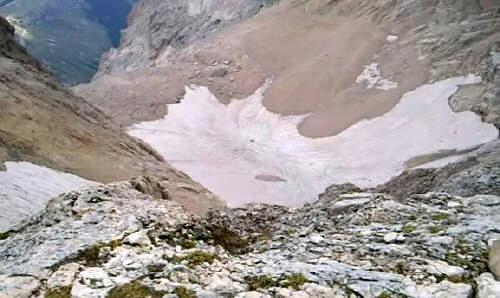 Foto ghiacciao del Calderone