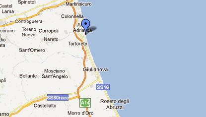 Cartina Geografica Costa Adriatica Marche.Alba Adriatica Viaggiare In Abruzzo Suggerimenti E Informazioni Utili Su Alba Adriatica