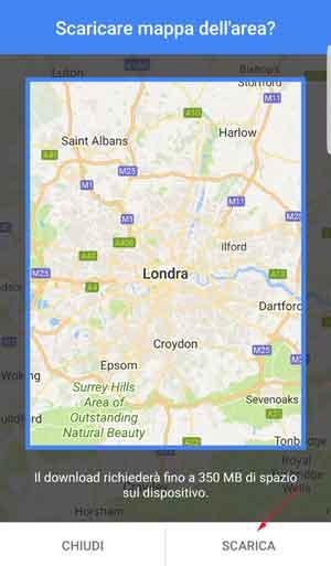 selezione mappa