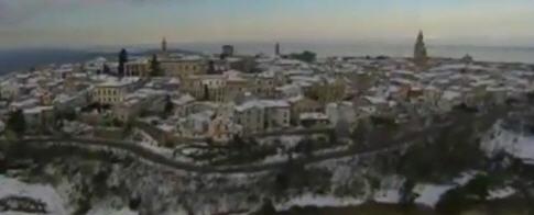 Foto dall'alto di Atri - Abruzzo