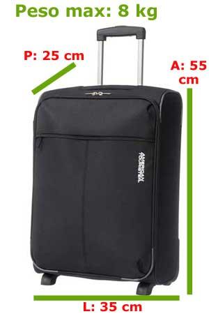 misure bagaglio a mano Alitalia