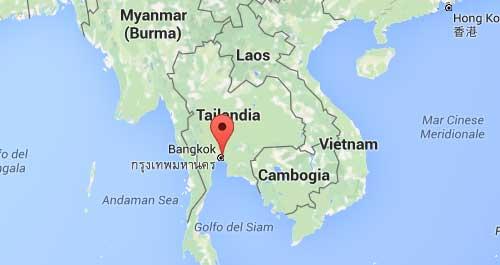 mappa tailandia