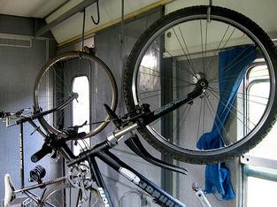 foto bici sul treno regionale