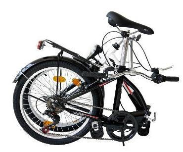 bici pieghevole chiusa