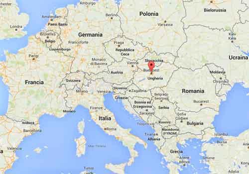 Viaggio budapest capitali d 39 europa viaggi nel mondo - Mappa di ungheria ed europa ...