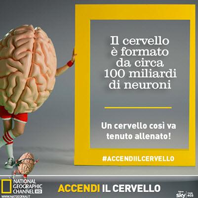 campagna Natgeo accendi il cervello