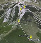 dove si trova il Rifugio Franchetti Gran Sasso