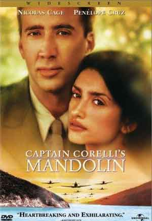 locandina film mandolino capitano Corelli