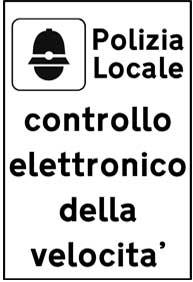 cartello controllo velocita