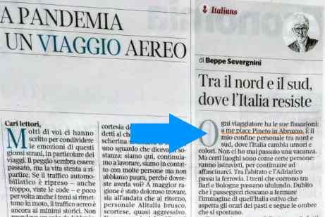 articolo di Beppe Severgnini