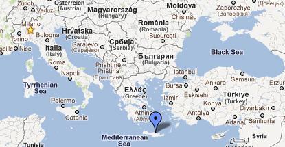 Cartina Sud Italia E Isole.Creta Foto Video E Mappe Di Creta Spiagge E Suggerimenti Utili