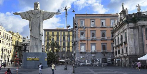 cristo redentore a Napoli