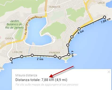 Cartina Italia Con Distanze Km.Distanza Tra Due Punti Su Mappe Google 2020 Come Misurare Da A