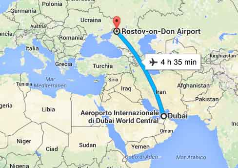 mappa Dubai Rostow