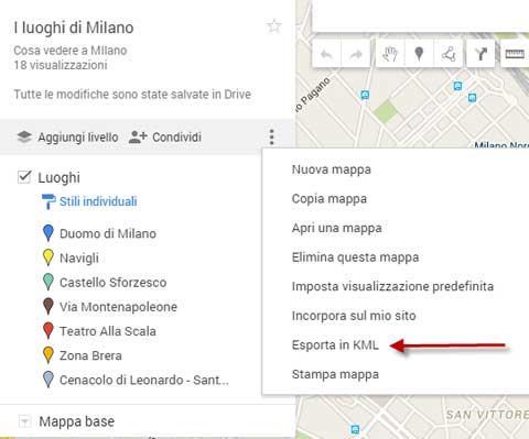 Come importare ed esportare mappe e segnaposti su gooogle for Opzioni di rivestimenti verticali
