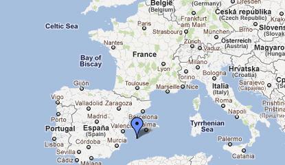 Cartina Italia Spagna.Viaggio Formentera Isola Baleari Spagna Guida E Foto Per Una Vacanza A Formentera