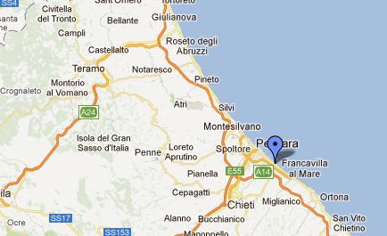 Mappa Francavilla