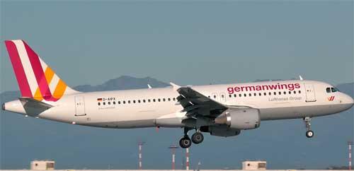 foto aereo Germanwings