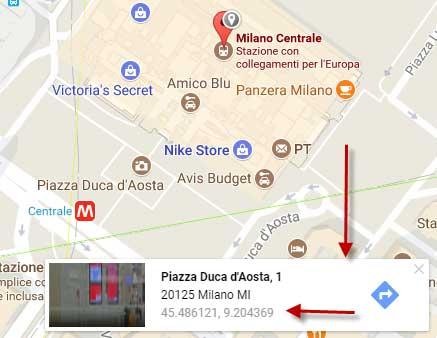 coordinate su-google-maps