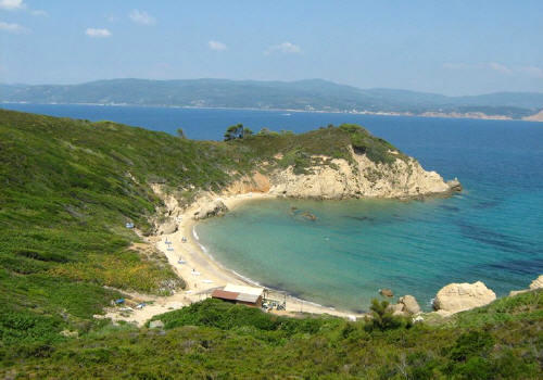 Foto spiaggia hidden beach Skiathos