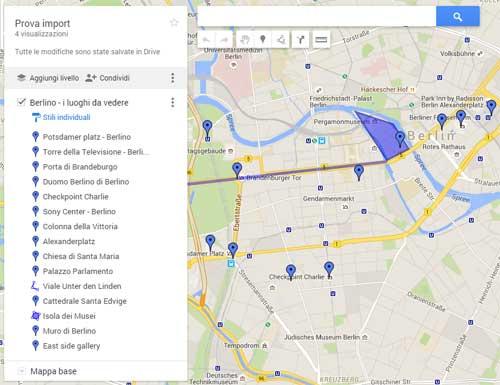 import mappa Berlino