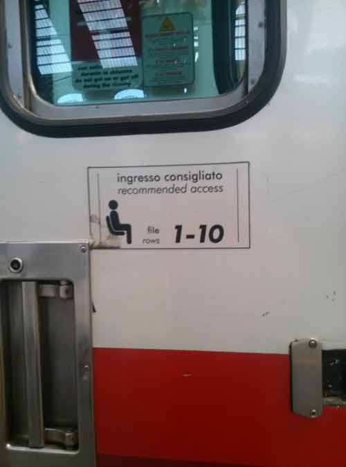 ingresso treno