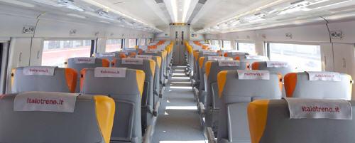 interni treni Italo