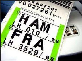 etichetta bagaglio