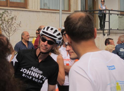 Linus all'Ironman 2012 Pescara