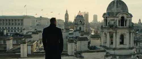 Foto Londra 007 Skyfall