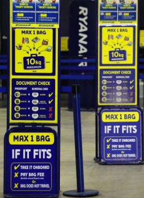misura bagagli