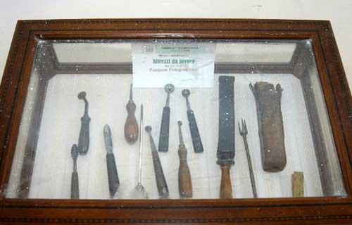 attrezzi museo cuochi