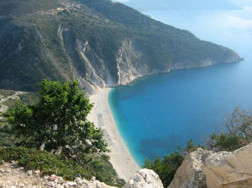 Foto spiaggia di Myrtos
