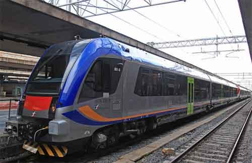 Il nuovo treno diesel regionale
