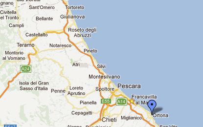 Mappa Ortona