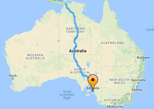 percorso australia