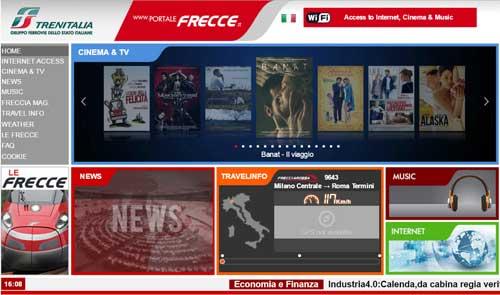 portale wifi Trenitalia