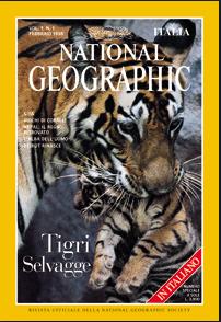 primo numero National Geographic Italia
