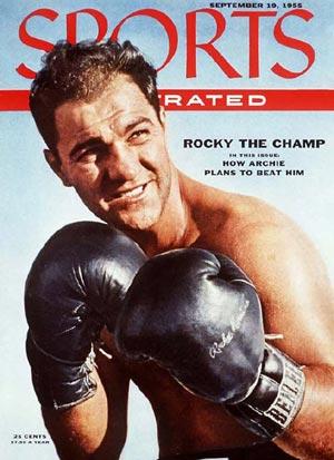 Rocky su Sports Illustrated del 55