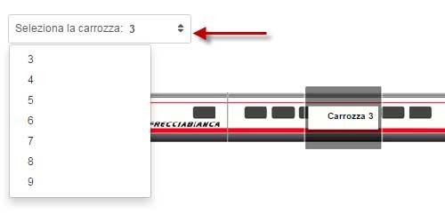 assegnazione posto automatico treni