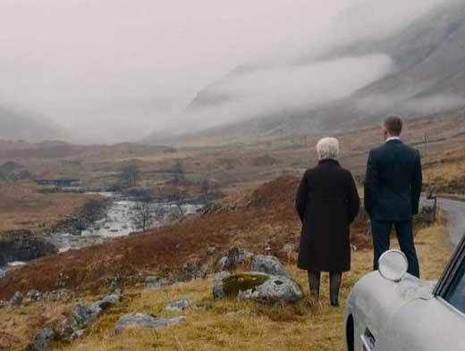 Foto 007 Skyfall tra le montagne di Glencoe