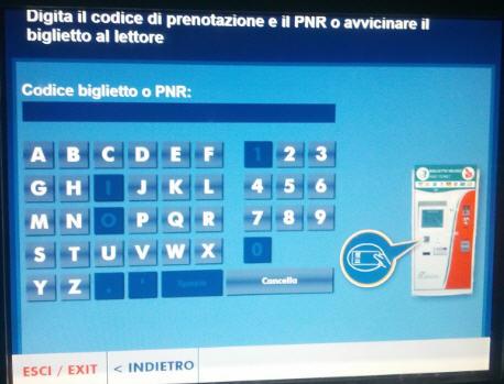 self service PNR