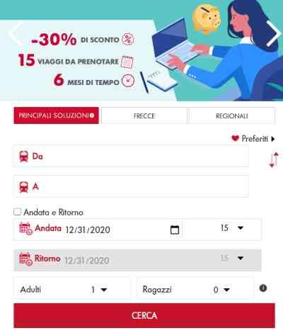 sito mobile trenitalia