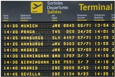 Codice bagaglio come cercare codice volo e sigla aeroporto for Cambio orario volo da parte della compagnia
