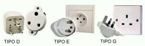 prese elettriche D, E, G