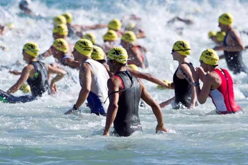foto gara nuoto xterra