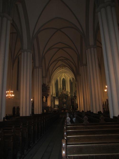 Foto interno della Marienkirche