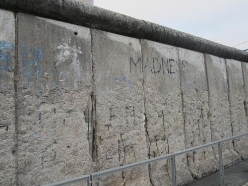 Foto del Muro di Berlino