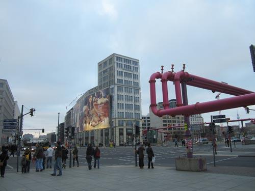 Foto incrocio Berlino piazza Potsdamer