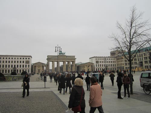 Piazzale davanti Porta di Brandeburgo